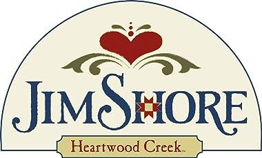 Enesco Jim Shore Heartwood Creek Santa's Around The World American Nutcracker Figurine, 9.25 Inch, Multicolor