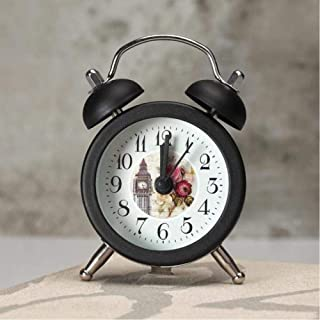 Creative Alarm Clock Cute Mini Metal Small Alarm Clock Electronic Small Loud Table Bedside Alarm Clock