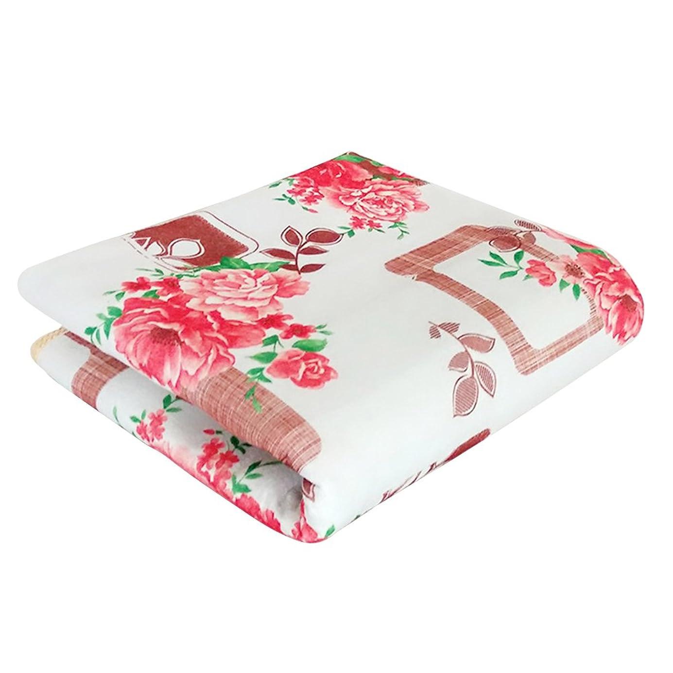 怒って対抗生理Healifty 電気加熱されたパッドの温度調整の熱毛布の鎮痛剤の二重暖房のマットレス145 x 115 CM