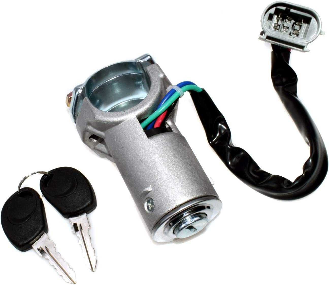 Ignition Lock Cylinder 2 Keys Award-winning store Set 2000-2006 Now on sale 29 IVECO For Daily