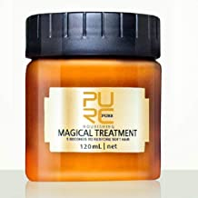 PURC Magical Hair Mask,5 Seconds to Repair Damaged Hair,Advanced Molecular Hair Roots Treatment Professtional Hair Conditioner,Deep Conditioner Suitable for Dry & Damaged Hair-120ML