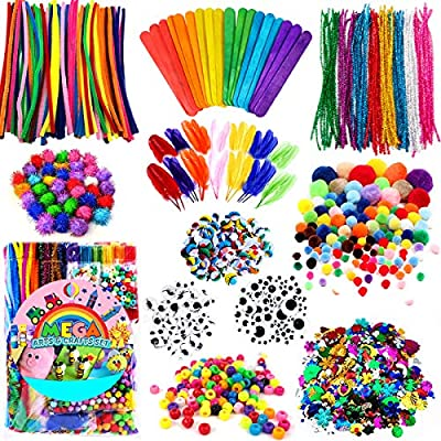 FunzBo Arts and Crafts Supplies for Kids - Craf...