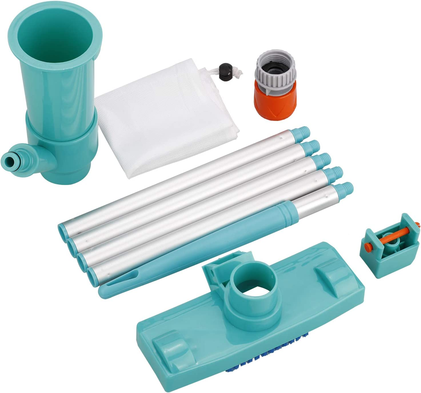 FGYZYP Portable Some reservation Pool Vacuum Under blast sales Jet Cleaner Clean Underwater Supply
