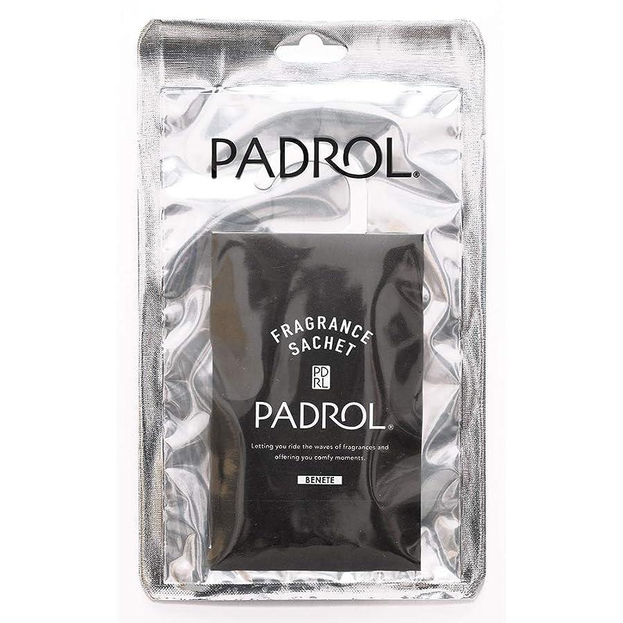 酸素トピックスープPADROL ルームフレグランス サシェ BENETE ハンガータイプ ホワイトムスクの香り PAB-4-01