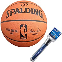 Spalding NBA Official Game Basketball w/ 12