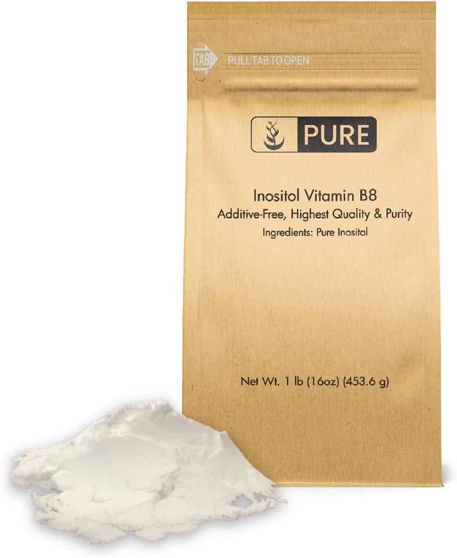 Inositol Vitamin B8 Powder 1 Overall Gluten-Free Over Cheap item handling lb Wellnes
