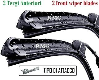 RMG Coppia 2 spazzole tergicristallo anteriori per MODUS Prodotta dal anno 2004 al 2012 Misure spazzole 70 e 63 cm B