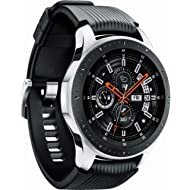 Samsung Galaxy Watch (46mm) SM-R800NZSAXAR (Bluetooth) - Silver (Renewed)