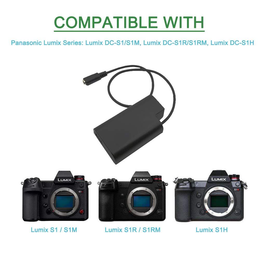 Adaptador de Corriente de CA para c/ámaras Lumix Lumix DC-S1//S1M//S1R//S1RM//S1H DMW-DCC16 DMW-AC8