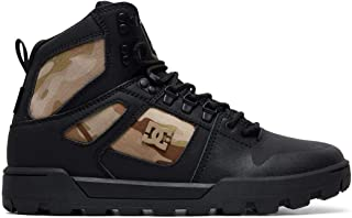 DC Shoes Mens Shoes Pure Wnt Water Resistant Leather Boots Adyb100006