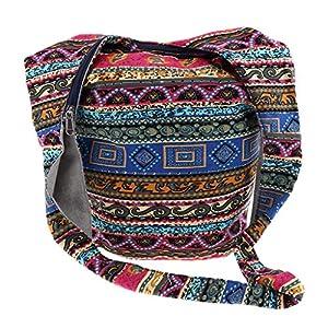 IPOTCH Bolsos de Hombro para Mujer Bolsos de Hombro con Bandolera Ancha Correa de Hombro - Multicolor | DeHippies.com