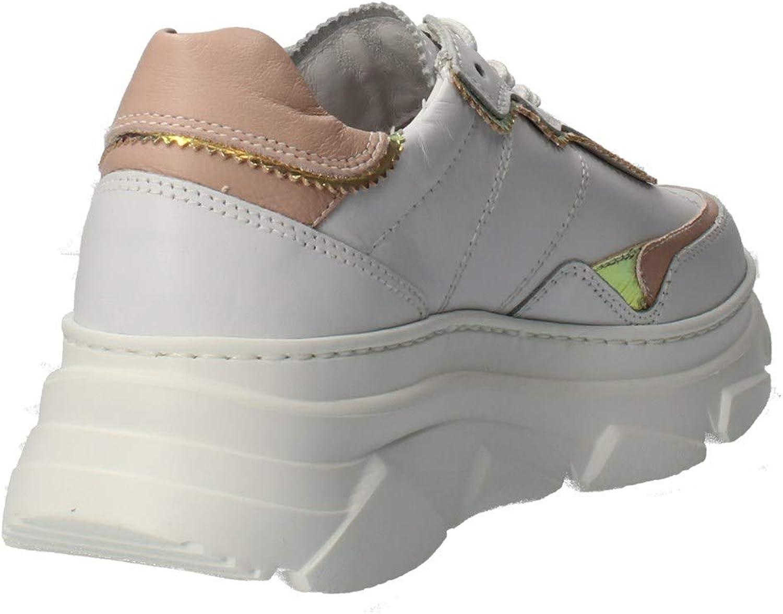 Nero Giardini Sneakers Donna Pelle Bianco Bianco