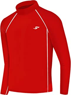 JustOneStyle New Boys &Girls Youth 088 Red Compression Skin Tight Baselayer Shirt