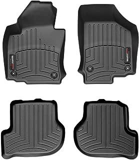 WeatherTech Custom Fit FloorLiner - 442691-440802 - 1st & 2nd Row (Black)