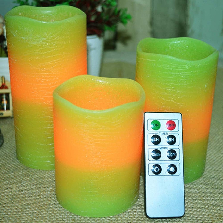 SCB LED flammenlose helle Kerze, realistische blinkende elektronische Kerzenlicht-echtes handgemachtes w Auto-Aus Timer-Fernbedienung, für Hauptdekoration u