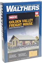 Walthers Cornerstone Series174 HO Scale Golden Valley Freight House Kit 8-3/8 x 3-3/8 x 3-1/4