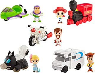 Mattel Toy Story 4 Mini Figura con Vehículo GCY49