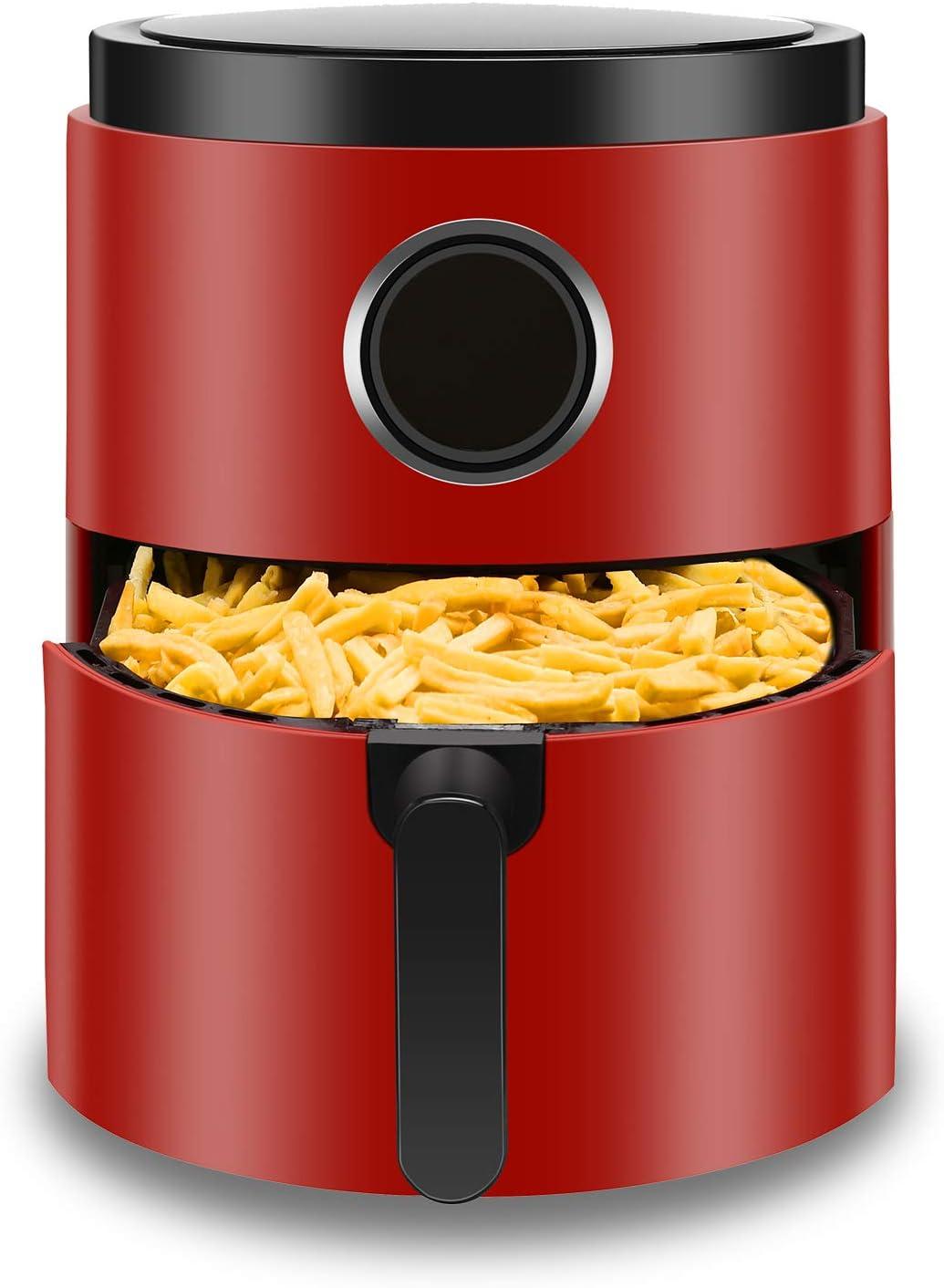 Antarctic Star 5.2 Finally resale start Quart Air Fryer OFFicial shop Digi Deep Free Chip Hot