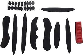 VORCOOL Kit de almohadillas para casco para exteriores accesorios universales para casco de bicicleta juego de 23 unidades almohadillas de espuma para casco de motocicleta