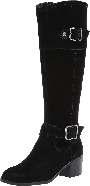 Bandolino Footwear Women's PRIES Knee High Max 46% OFF Black Boot Popularity Leather