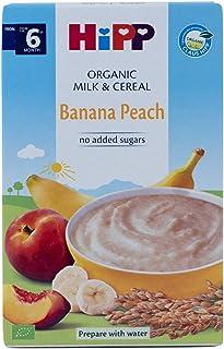 Hipp Organic Milk Pap Banana Peach, 250g