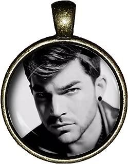 Chaoticfashion Adam Lambert Necklace Queen Jewelry Super Hottie Gift Pendant Charm