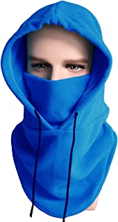 Balaclava Ski Mask Cold Weather Face Mask Neck Warmer Fleece Hood Winter Hats