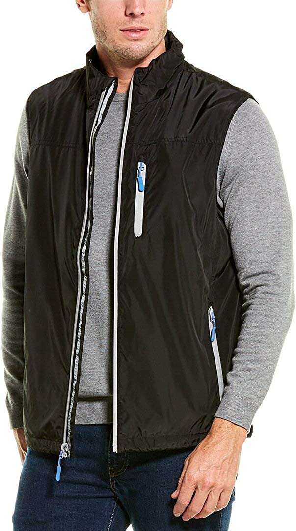 Tailorbyrd Mens Performance Fleece-Lined Vest, M