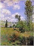 Das Museum Outlet–Sentier Ile Saint Martin 1880by Monet–Poster Print Online kaufen (101,6x 127cm)