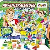 Image of CRAZE Adventskalender 2020 MAGIC SLIME Schleimlabor Weihnachtskalender kreiere deinen eigenen Schleim kreativer Spielspaß für Kinder und Jugendliche 24737