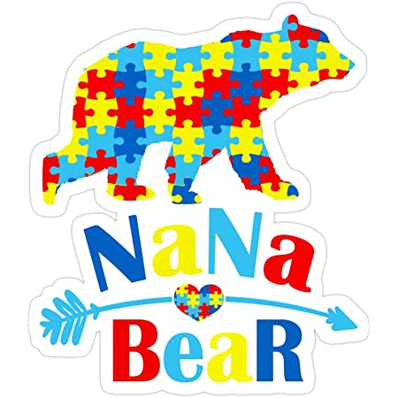 Nana Bear Decal