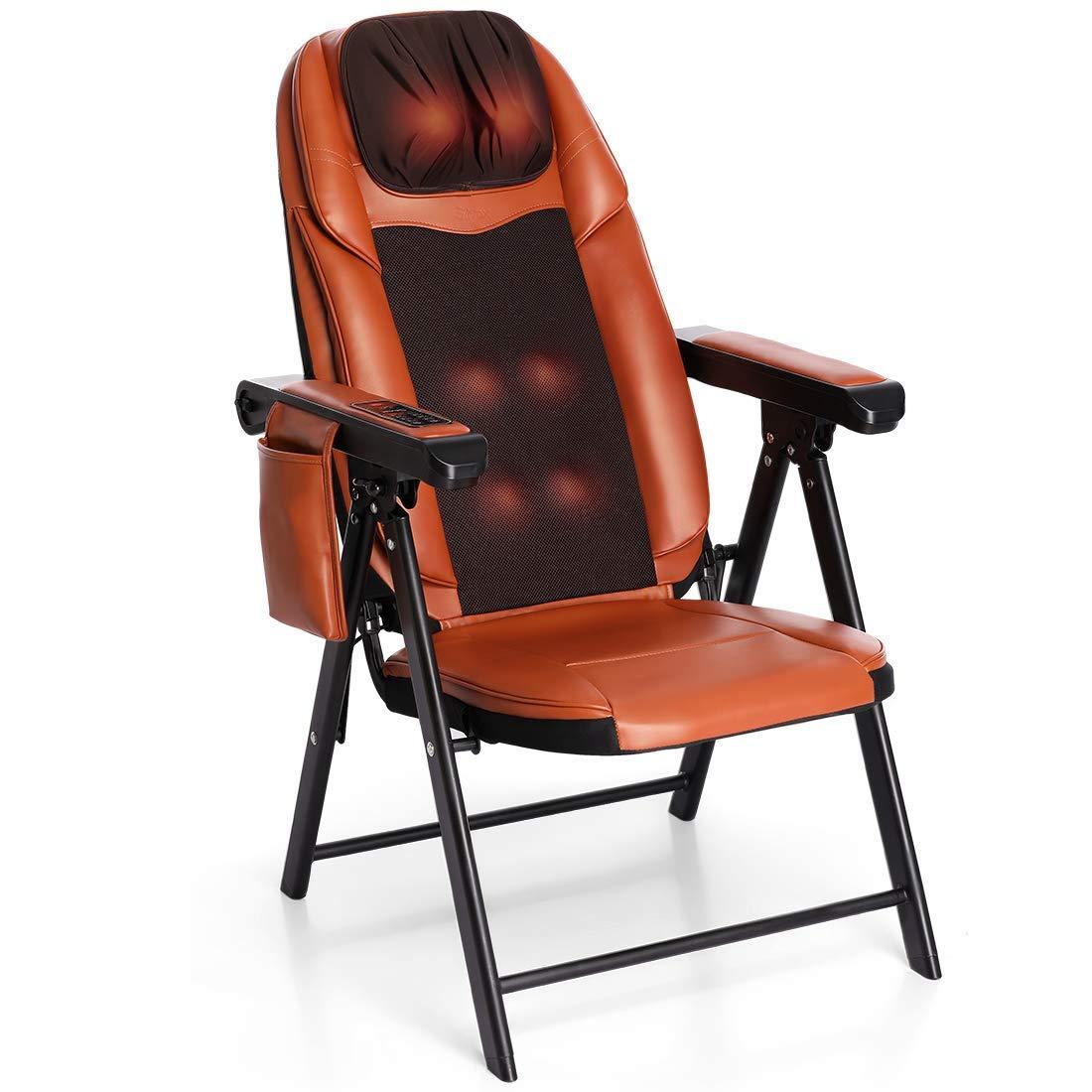 Folding Shiatsu Massage Chair Heat