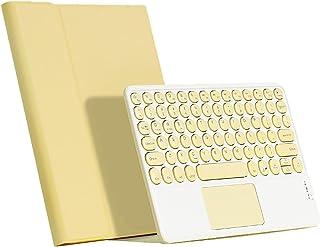 IPad Pro 11 Calowa Klawiatura TouchPad Case - Touchpad Okrągły Kapelusz Klawiatura Bluetooth Slim Folio Smart Leather Cove...