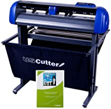 28-inch USCutter Titan 2 Vinyl Cutter/Plotter with Stand, Basket and Design and Cut Software