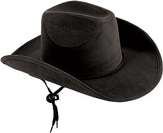 Child's Suede Cowboy Hat, Black