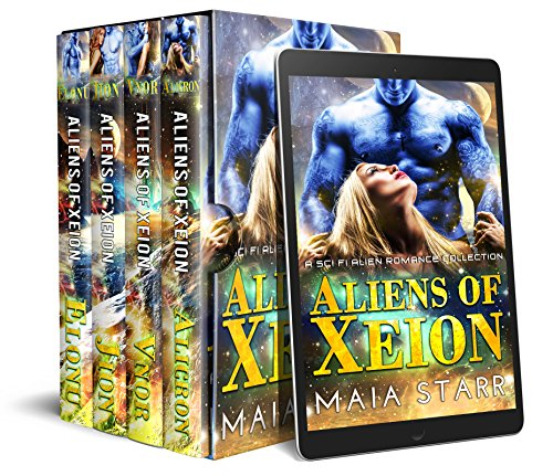 Aliens Of Xeion: A Sci Fi Alien Romance Collection (English Edition)