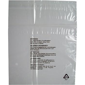 Sabco Lot de 200 sachets en cellophane transparents avec fermeture autocollante pour FBA 6 x 9