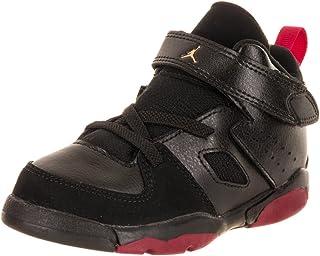 a0def8f6b032 Jordan Nike Toddlers FLTCLB  91 BT Black Dandelion Varsity Red Basketball  Shoe 7 Infants