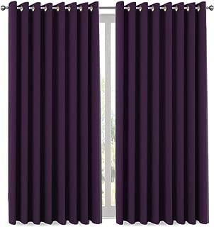 H.VERSAILTEX Premium Blackout Wider Curtains for Patio & Yard (100