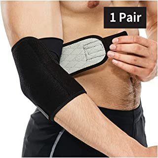 Elbow Support Elbow Brace Sports Compression Sleeve for Tennis Basketball Weightlifting Arthritis Tendonitis Sleeves