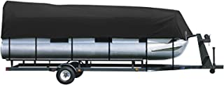 iCOVER Trailerable Pontoon Boat Cover, Fits 17 to 28ft Long & Beam Width up to 102in Pontoon Boat with Storage Bag