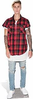 Star Cutouts STARL Cut Outs Justin Bieber Purpose Life Size Cardboard Cut Out, Multi Colour