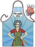 Hausfrauen Kochschürze Hochzeit Geschenk Schürze : Für immer Dein! -- Themenschürze mit Minischürze für Flaschen