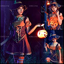 League of Legends LOL Wild Hunter Leopard Mujer Nederly Cosplay Disfraz Halloween Charm Witch