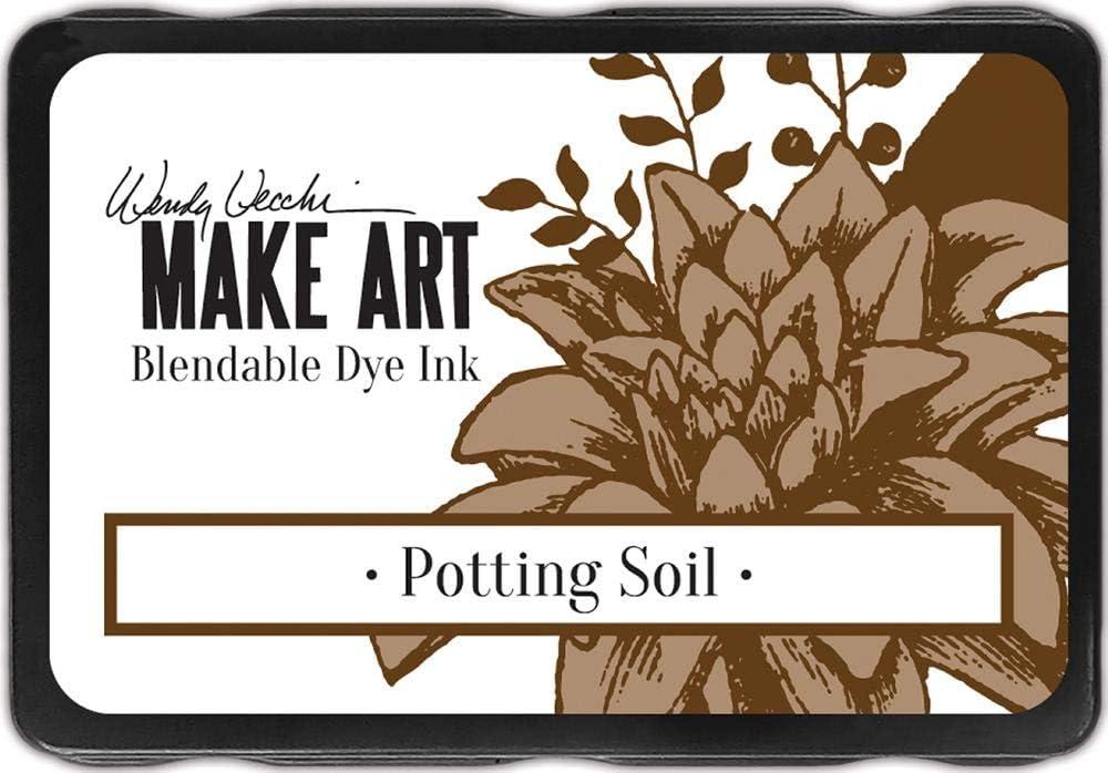 Ranger Wendy Vecchi Make Art Dye Pads-Potting Genuine Free Shipping Industry No. 1 Soil Ink
