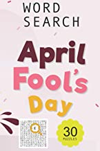 April Fools' Day word search puzzle book: undefined