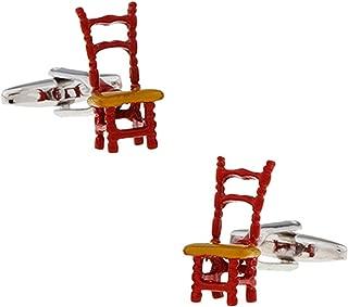 Aooaz Cuff Links Chair Cufflinks On Normal Shirt