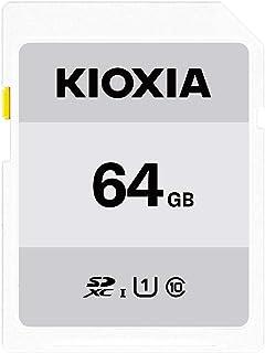 キオクシア(KIOXIA) 旧東芝メモリ SDXCカード 64GB UHS-I対応 Class10 (最大転送速度50MB/s) 日本製 国内正規品 3年保証 Amazon.co.jpモデル KTHN-NW064G