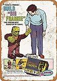 NOT Gigantic Frankenstein Modell-Kit Blechschild Vintage
