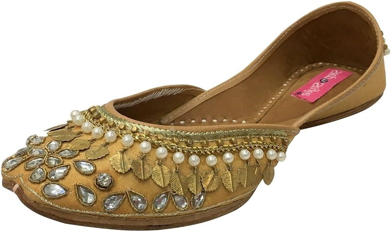 Step n Style Women Flat shoes Flat Ballet Jutti Ethnic Mojari Flat Kolhapuri Khussa